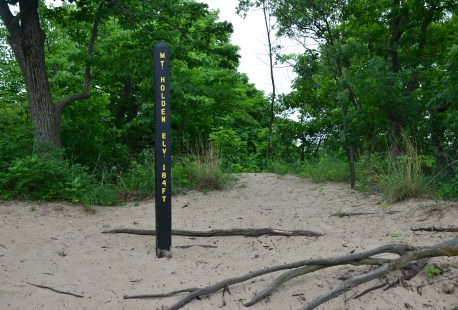Mt. Holden on Trail #8 at Indiana Dunes State Park