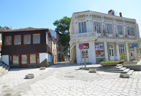 Square in Balchik, Bulgaria