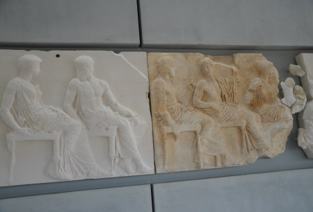 Parthenon Gallery at the Acropolis Museum in Athens, Greece