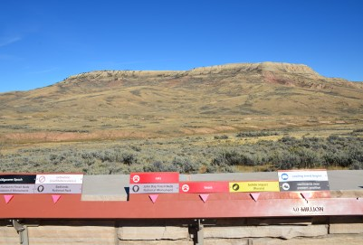 Timeline at Fossil Butte National Monument, Wyoming