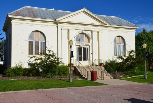 Uinta County Museum / Carnegie Library in Evanston, Wyoming