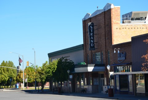 Strand Theatre in Evanston, Wyoming