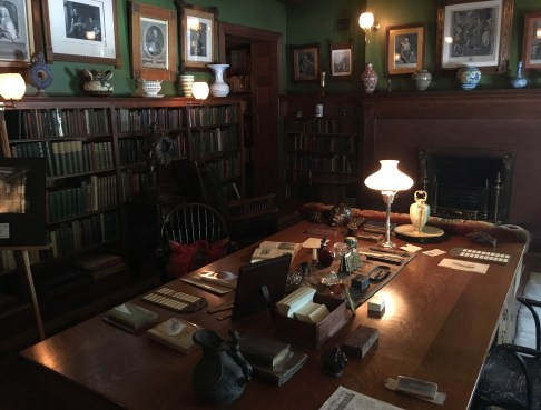 Library at the John J. Glessner House in Chicago, Illinois