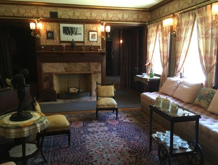 Parlor at the John J. Glessner House in Chicago, Illinois