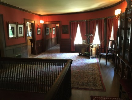 Upstairs hallway at the John J. Glessner House in Chicago, Illinois