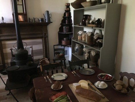 Kitchen at the Henry B. Clarke House in Chicago, Illinois