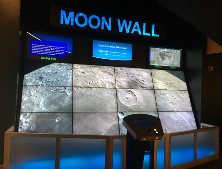 Moon Wall at the Adler Planetarium in Chicago, Illinois