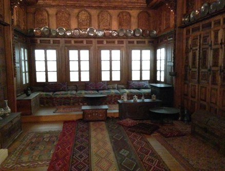 Room from a mansion in Kozani at the Benaki Museum in Athens, Greece