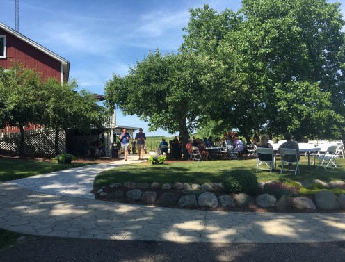Round Barn Winery on the Lake Michigan Shore Wine Trail