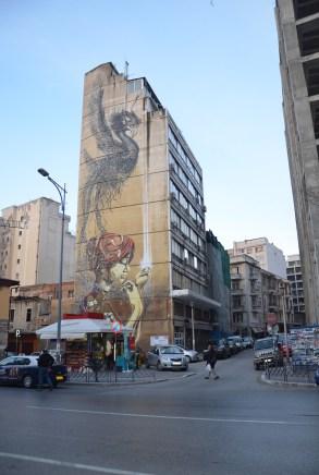 Mural in Thessaloniki, Greece