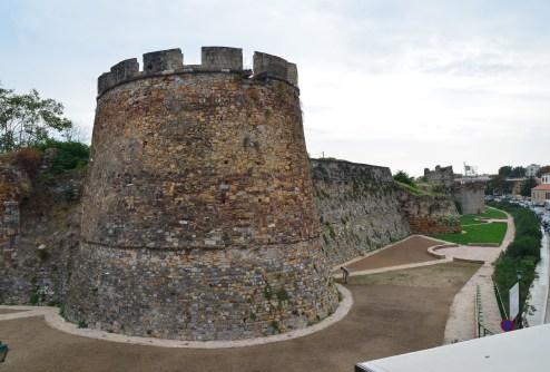Chios Castle in Kastro, Chios, Greece
