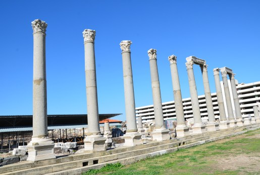 Smyrna Agora in Izmir, Turkey