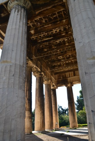 Temple of Hephaestus at the Agora in Athens, Greece