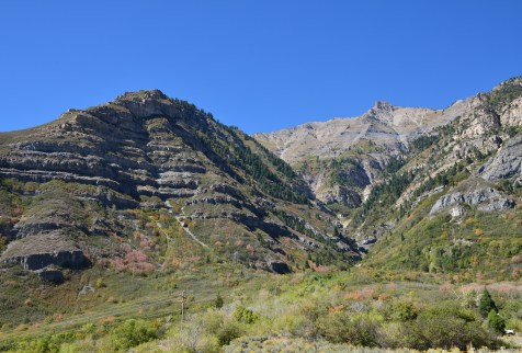 Provo Canyon in Utah