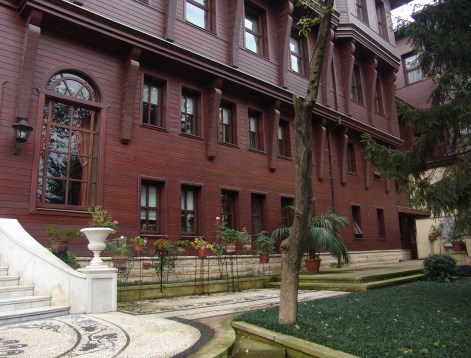 Patriarchal complex at the Ecumenical Patriarchate of Constantinople in Fener, Istanbul, Turkey