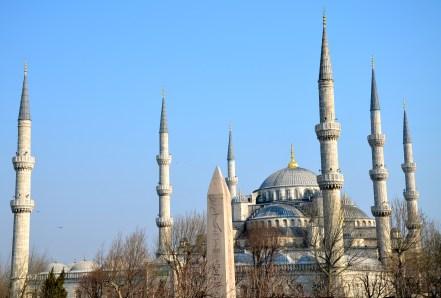 Sultan Ahmet Camii (Blue Mosque) in Fatih, Istanbul, Turkey