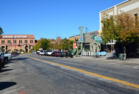 Historic 25th Street and Union Station in Ogden, Utah