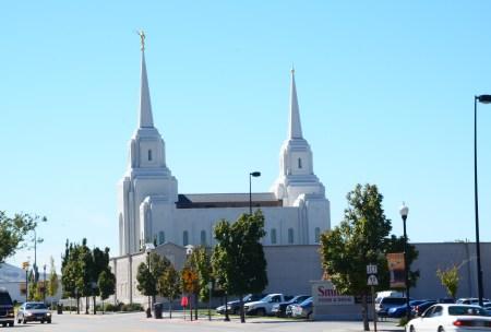 Brigham City Utah Temple in Brigham City, Utah