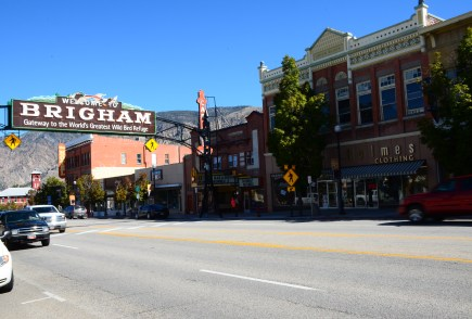 Main Street in Brigham City, Utah