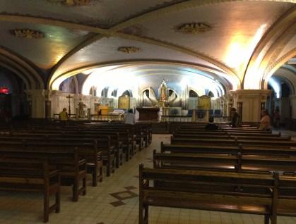 Immaculate Conception Chapel at Sainte-Anne-de-Beaupré in Québec, Canada