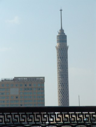 Cairo Tower in Cairo, Egypt