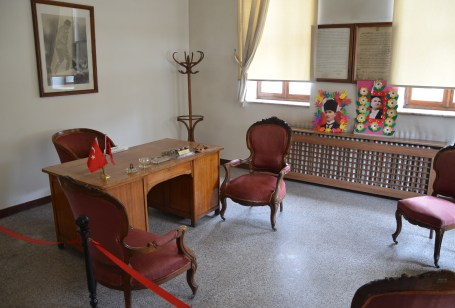 Atatürk's office at the Zafer Müzesi in Afyon, Turkey