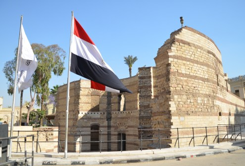 Babylon Fortress in Cairo, Egypt
