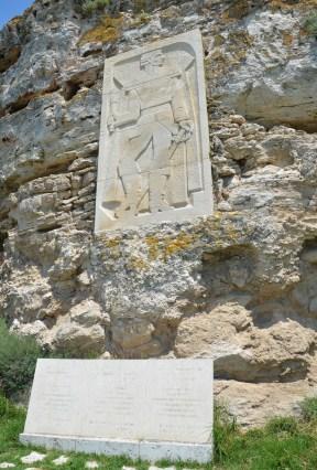 Admiral Ushakov monument at Kaliakra, Bulgaria
