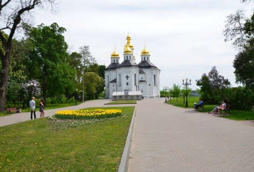 St. Catherine's Church in Chernihiv, Ukraine