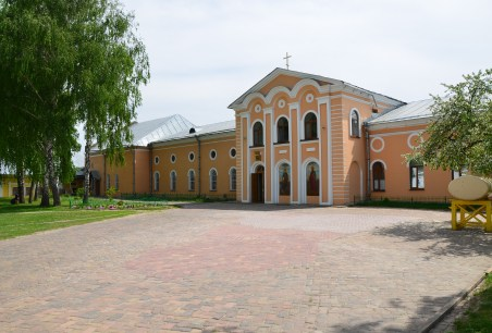 Church of Saints Peter and Paul at Eletsky Monastery in Chernihiv, Ukraine