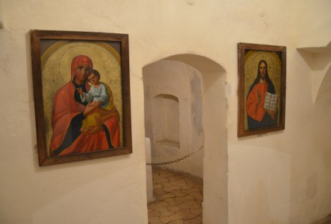 Caves of St. Anthony at St. Elias Monastery in Chernihiv, Ukraine