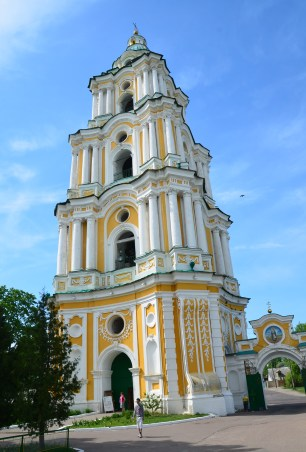 Bell tower at Trinity Monastery in Chernihiv, Ukraine