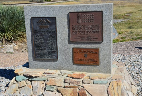 Commemoration of 100th anniversary and memorial to Chinese workers at Golden Spike National Historic Site, Promontory Summit, Utah