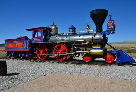 Jupiter at Golden Spike National Historic Site, Promontory Summit, Utah