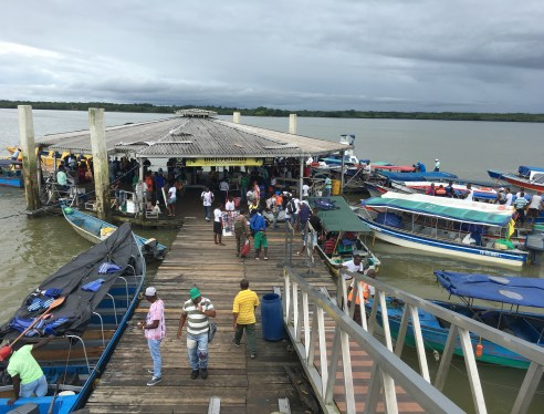 Muelle Turístico in Buenaventura, Valle del Cauca, Colombia