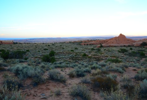 Devil's Garden Trail at Arches National Park in Utah