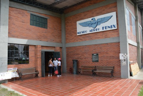 Museo Aéreo Fénix in Palmira, Valle del Cauca, Colombia