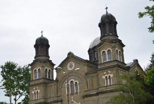 Sveti Kiril & Metody Church in Burgas, Bulgaria