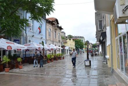 "bul. ""Aleko Bogoridi"" in Burgas, Bulgaria"