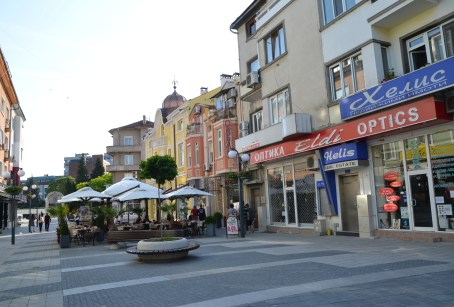 "ul. ""Aleksandrovska"" in Burgas, Bulgaria"