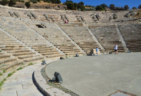 Halicarnassus Theatre in Bodrum, Turkey