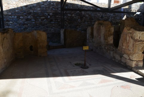 House of the Kidnapping of Europe in the Western Excavation Area in Kos, Greece