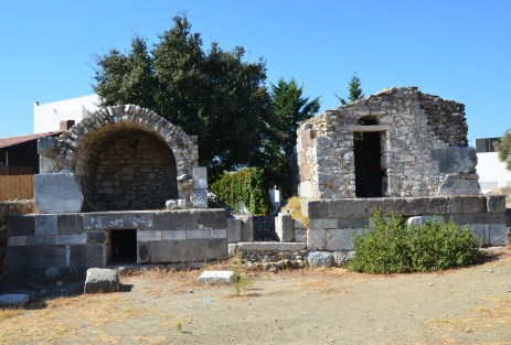 Roman tombs in Bodrum, Turkey