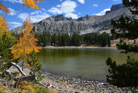 Stella Lake on the Alpine Lakes Loop Trail at Great Basin National Park, Nevada