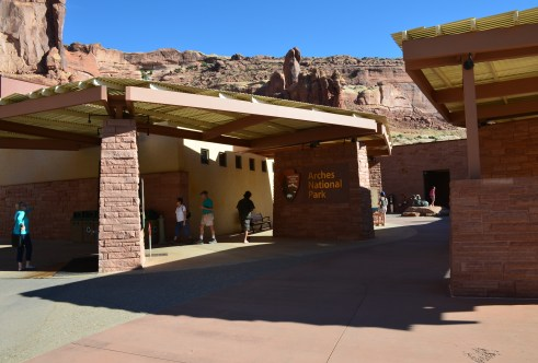 Visitor center at Arches National Park, Utah