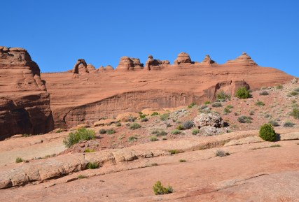 Upper Delicate Arch Viewpoint at Arches National Park in Utah