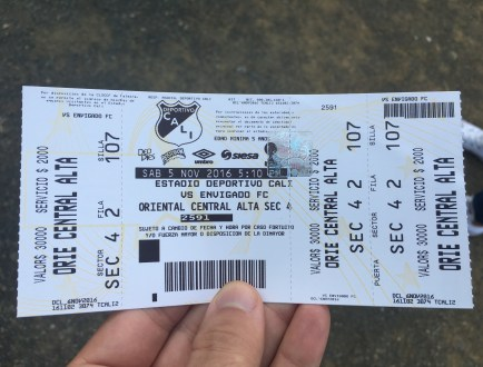 Ticket to Deportivo Cali vs Envigado at Estadio Deportivo Cali in Palmira, Valle del Cauca, Colombia
