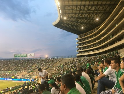 Estadio Deportivo Cali looking toward the north end in Palmira, Valle del Cauca, Colombia