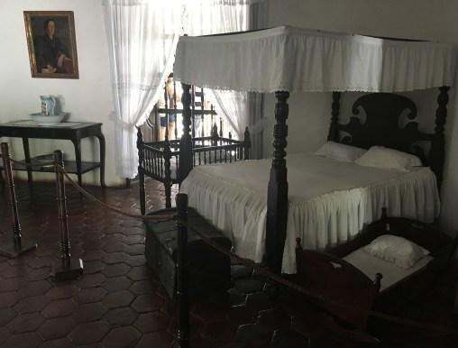 Mother's room at Hacienda El Paraíso in Valle del Cauca, Colombia