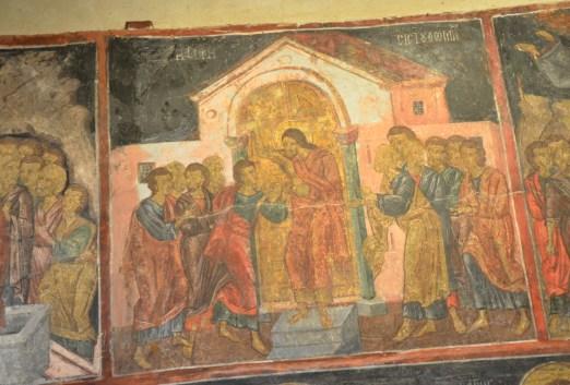 Church of Sveti Spas in Nesebur, Bulgaria